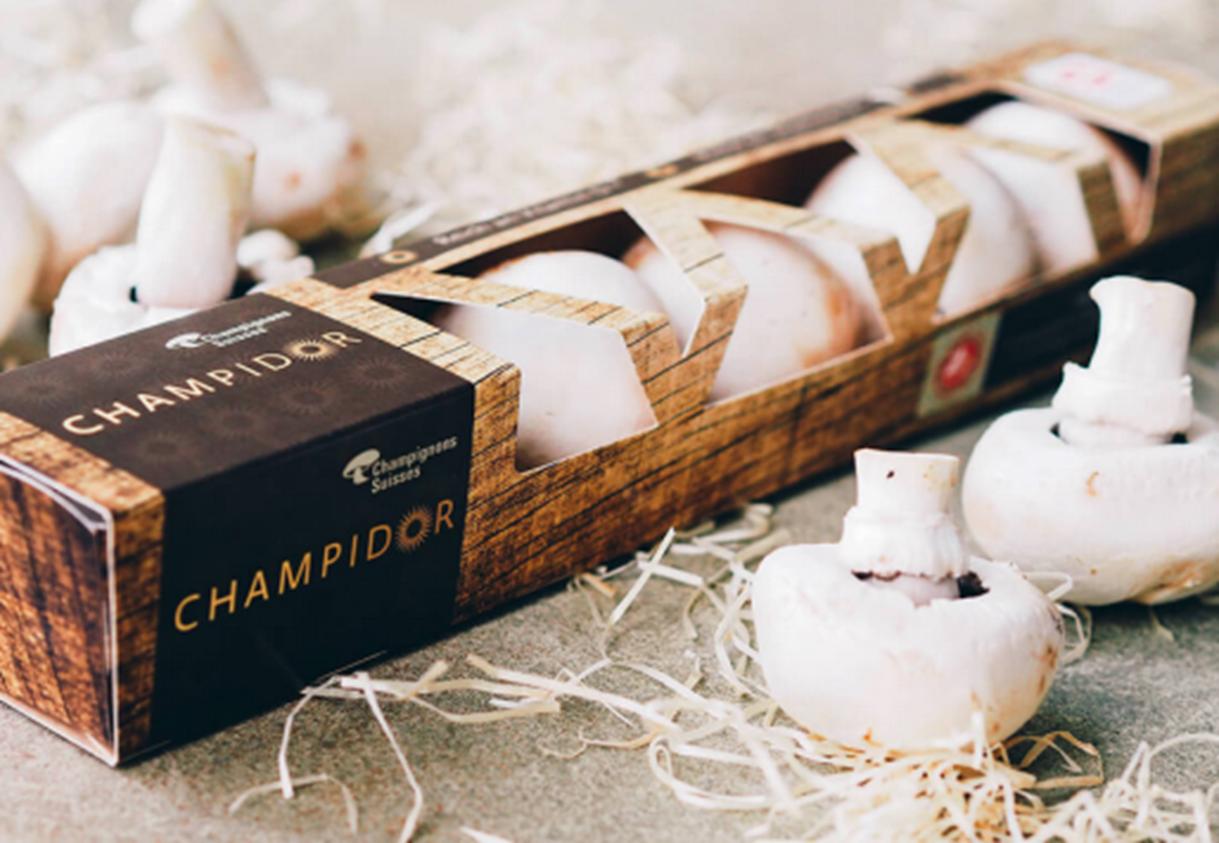 Schweizer Champignons mit natürlicher Vitamin-D-Anreicherung / www.champidor.ch